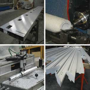 UPPA - Usinage de pièces et profilés en aluminium